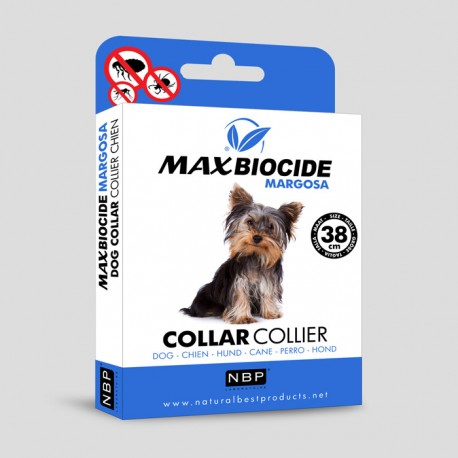 Малък биоциден нашийник за кучета