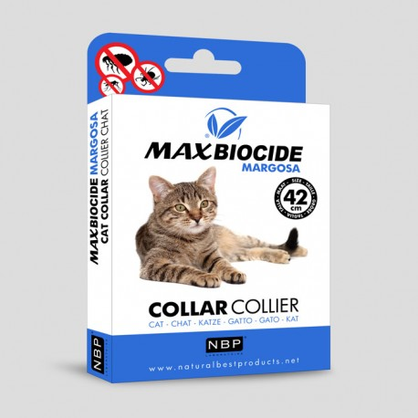 Биоциден нашийник за котки